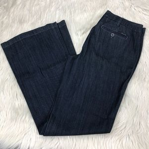 Level 99 Anthro Newport Wide Leg Trouser Jeans